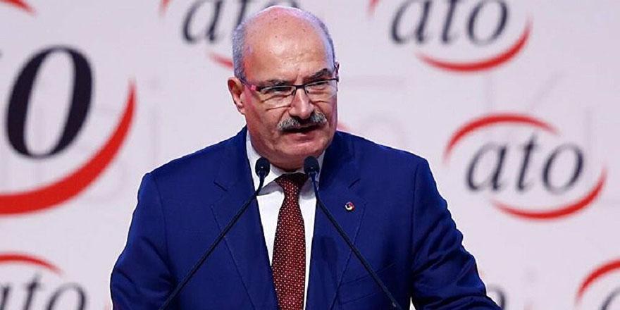 ATO Başkanı Baran'dan vatandaşlara çağrı