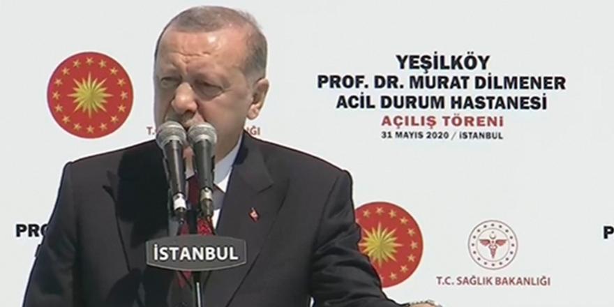 Erdoğan: Sağlıkta sıçrama yapıyoruz