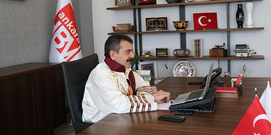 Hacı Bayram Veli Üniversitesi'nden Türkiye'nin ilk dijital mezuniyet töreni