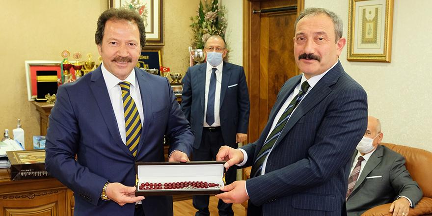 Ankara İl Emniyet Müdürü Yılmaz'dan ANKESOB'a ziyaret