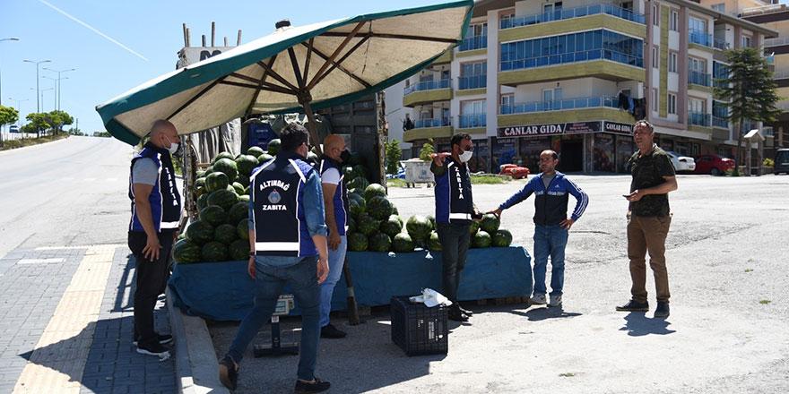 Altındağ'da seyyar operasyonu