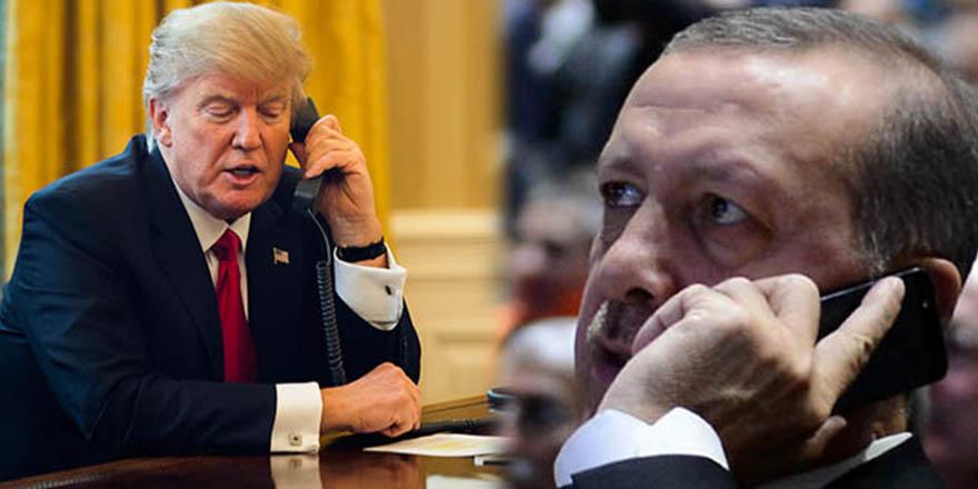 Cumhurbaşkanı Erdoğan, Donald Trump ile telefonda görüştü