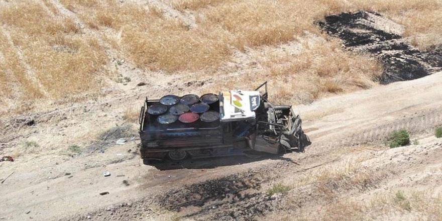 Bombalı araç vurularak durduruldu