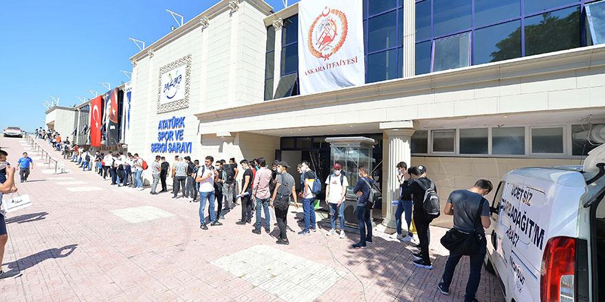 Ankara Büyükşehir'e itfaiye eri alımı başladı