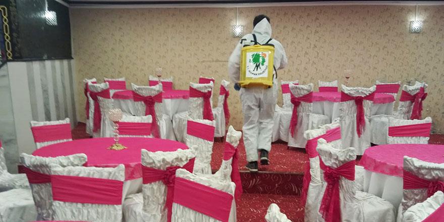 Mamak'ta düğün salonları yeni normale hazır