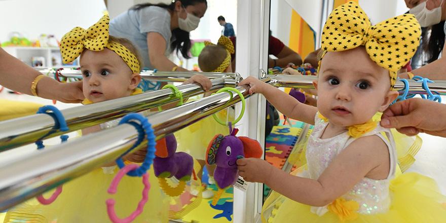 Mamak Belediyesi'nden bebeklere özel kütüphane