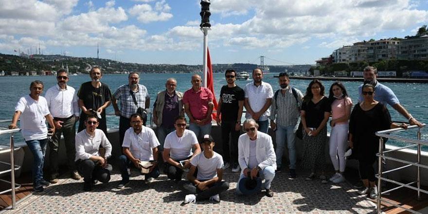 İstanbul'a sanat çıkarması