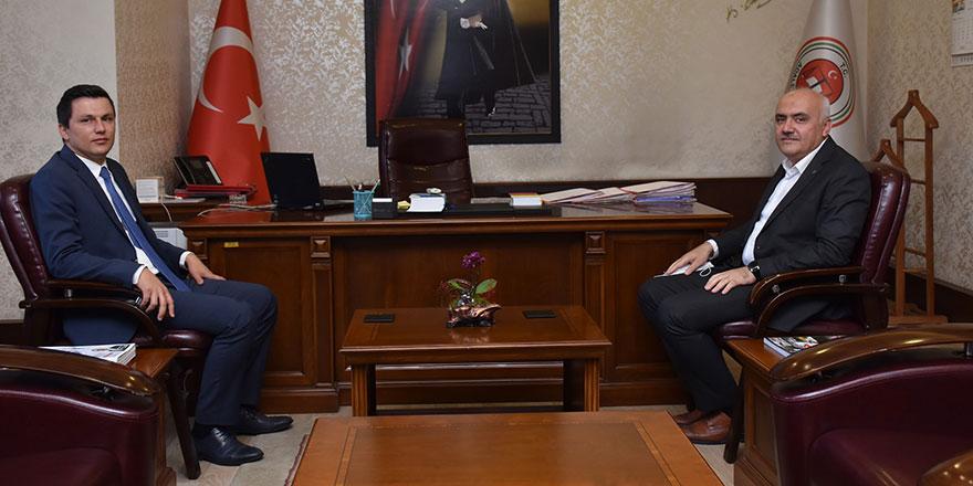 Kızılcahamam'da Yeni Cumhuriyet Başsavcısı Mustafa Kemal Delimehmet göreve başladı