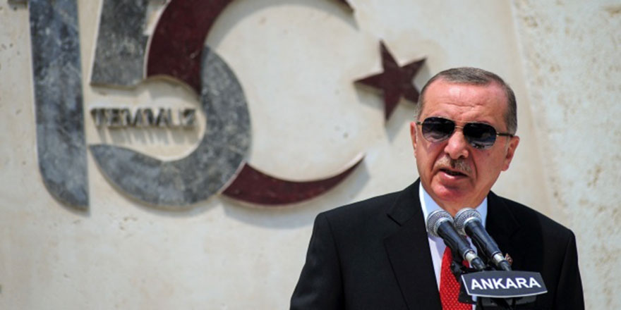 Cumhurbaşkanı Erdoğan 15 Temmuz törenine katıldı