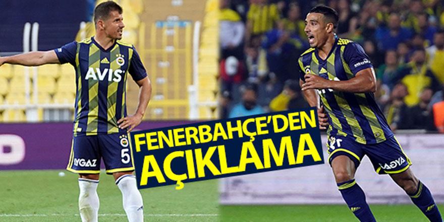 Fenerbahçe'den Emre-Dirar açıklaması