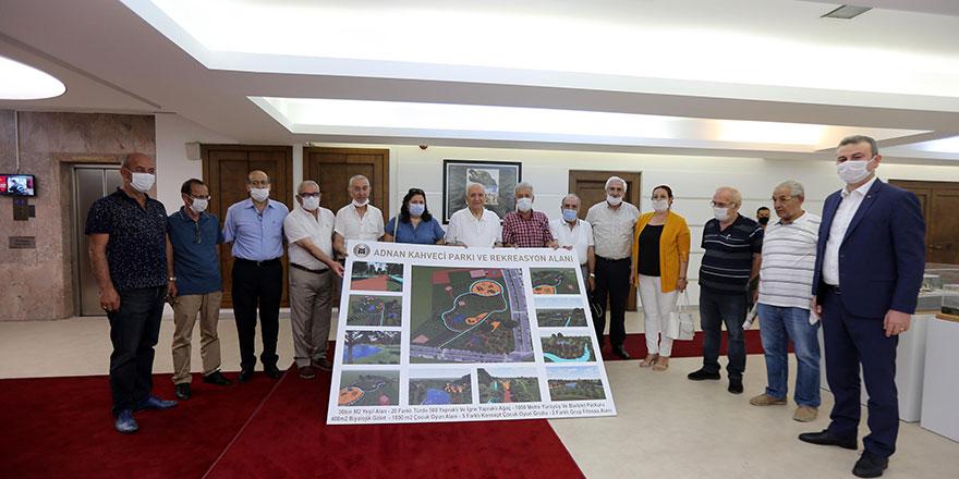 Site başkanlarından Yaşar'a ziyaret