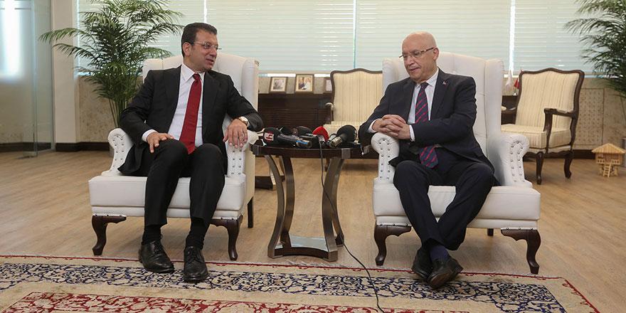 Başkan Yaşar, İmamoğlu'nu ağırladı