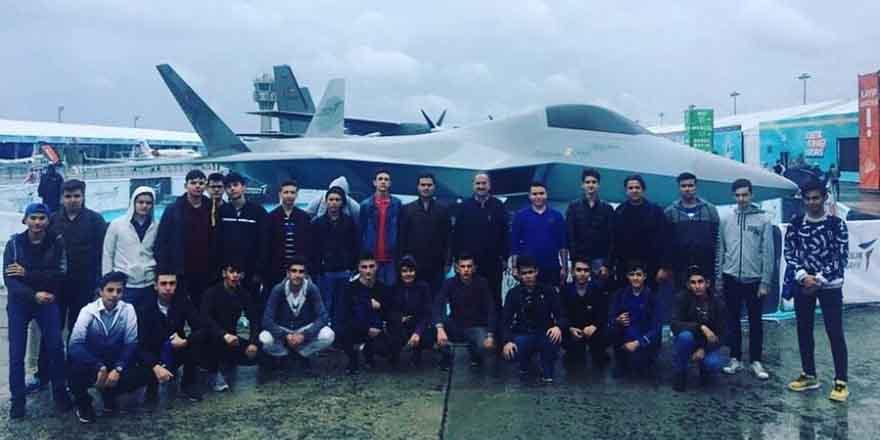 Geleceğin Milli Muharip uçak teknisyenler bu okulda yetişiyor