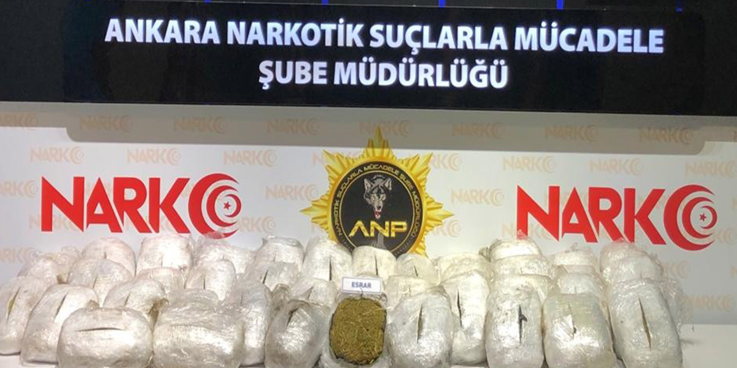 Ankara narkotiğinin büyük başarısı