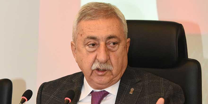 TESK Başkanı Palandöken'den vergi açıklaması