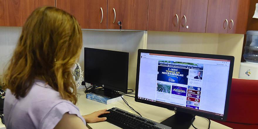 Belediye Meclis kararları artık online