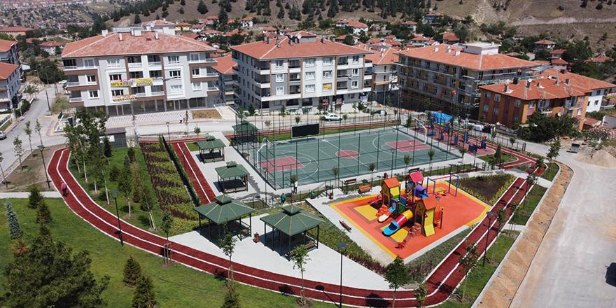 Altındağ'a yeni parklar