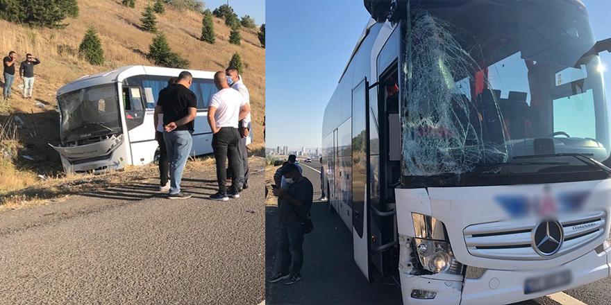 Ankara'da feci kaza:1 ölü