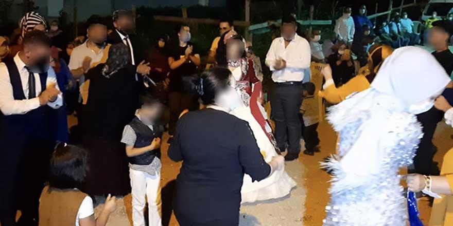 Covid'li kaynana düğüne katılanları yaktı