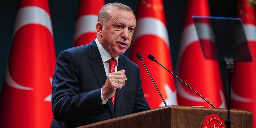 Cumhurbaşkanı Erdoğan'dan ekonomi vurgusu