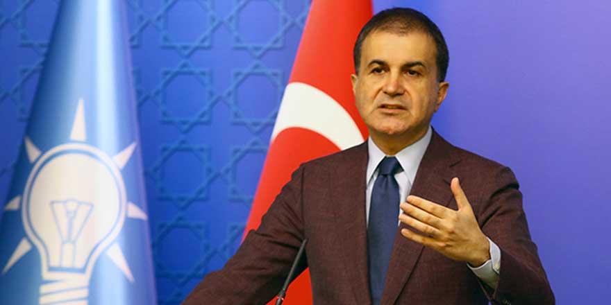 """AK Parti Sözcüsü Çelik: """"AB, Yunan tiyatrosuna izin vermemeli"""""""
