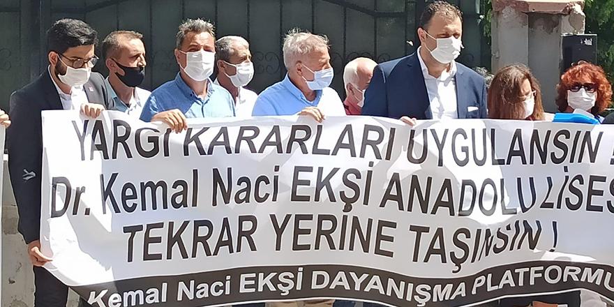 Yıldırım Kaya'dan Dr. Kemal Naci Ekşi Anadolu Lisesi açıklaması