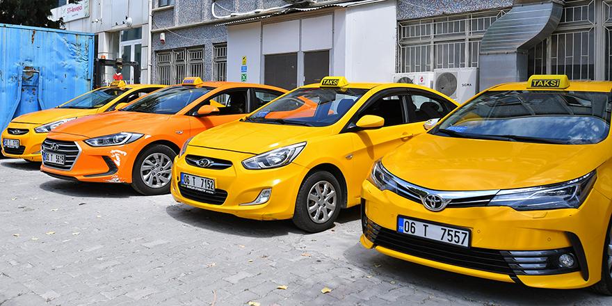 Ankara'da taksiler artık daha güvenli
