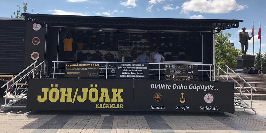 JÖH ve JÖAK tanıtım ve satış tırı Kırıkkale'de