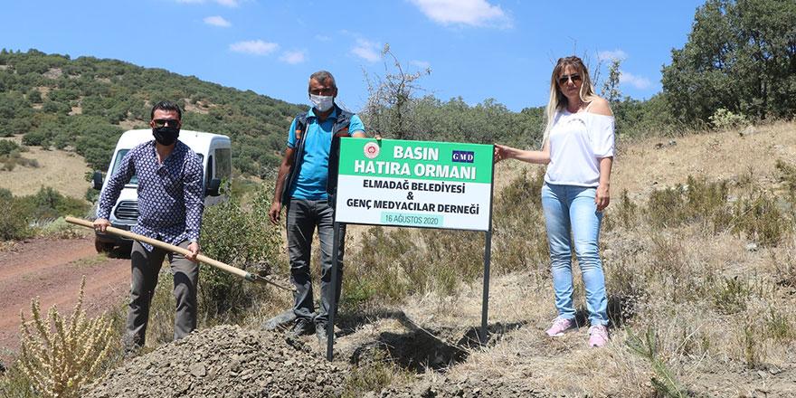 Genç Medyacılar 300 fidanı toprakla buluşturdu