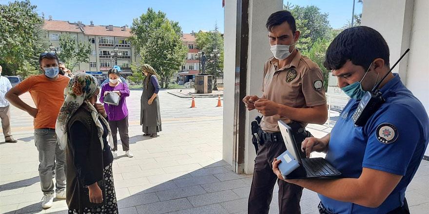 Polatlı'da iki covid hastasına izolasyon cezası