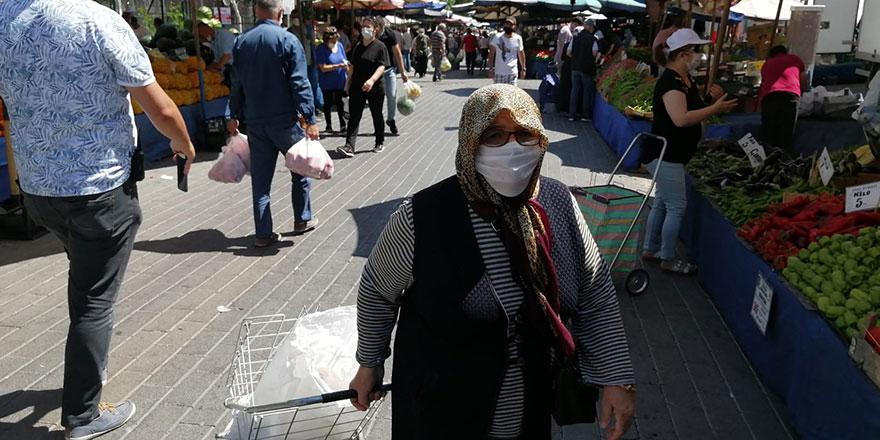 Ankara'da 65 yaş kısıtlamasına ilk gün uyulmadı