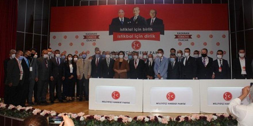 MHP Altındağ'da Emin Sıtkı Aktaş yeniden başkan