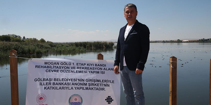 Başkan Şimşek'ten Mogan müjdesi