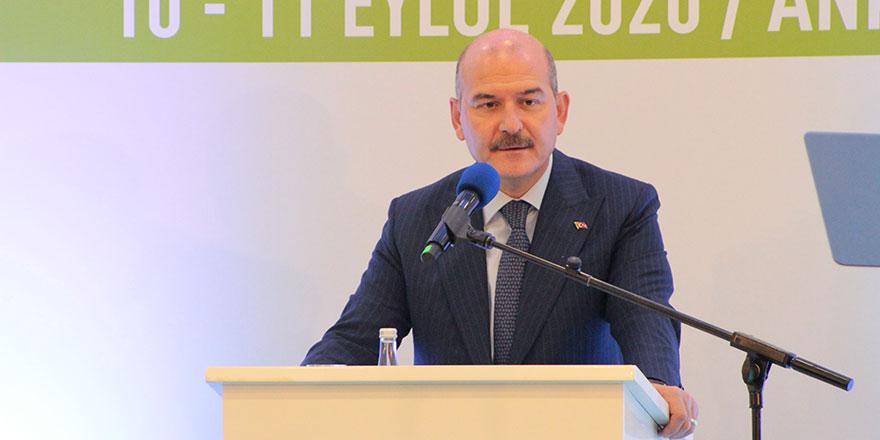 İçişleri Bakanı Soylu Kızılcahamam'da konuştu