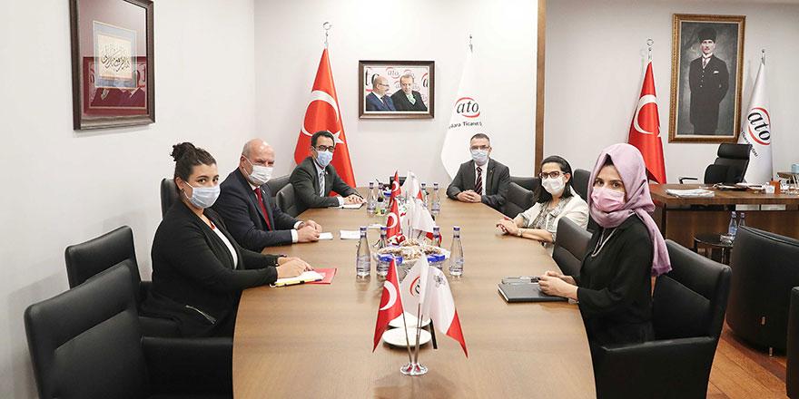 Malta'dan ATO'ya işbirliği ziyareti