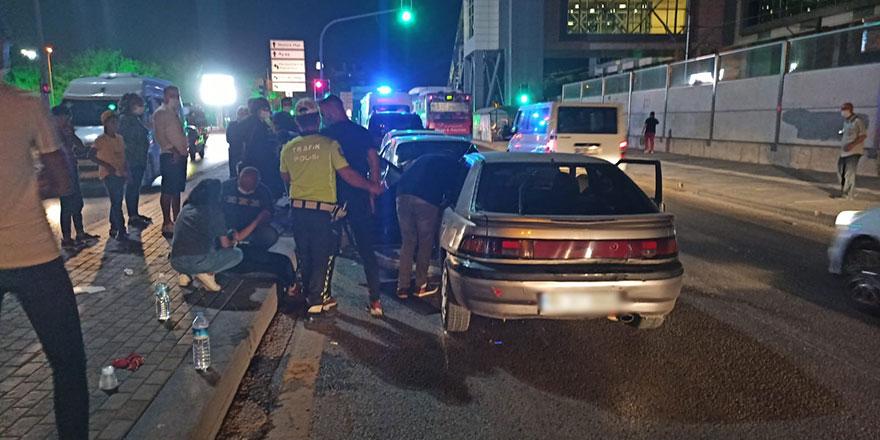 Başkent'te zincirleme kaza