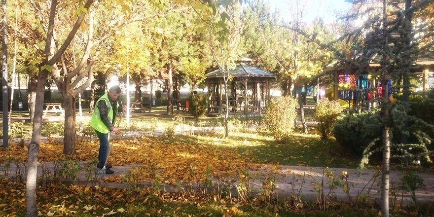 Parklarda sonbahar keyfi