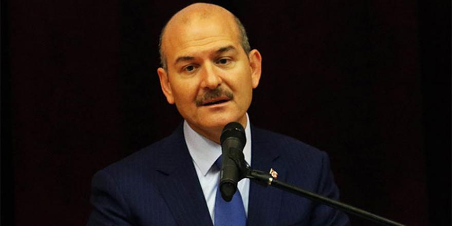 İçişleri Bakanı Süleyman Soylu'dan açıklamalar