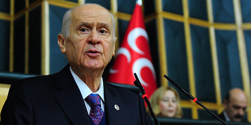 """Bahçeli: """"Türk Tabipleri Birliği yeni tip korona virüs kadar tehlikelidir"""""""