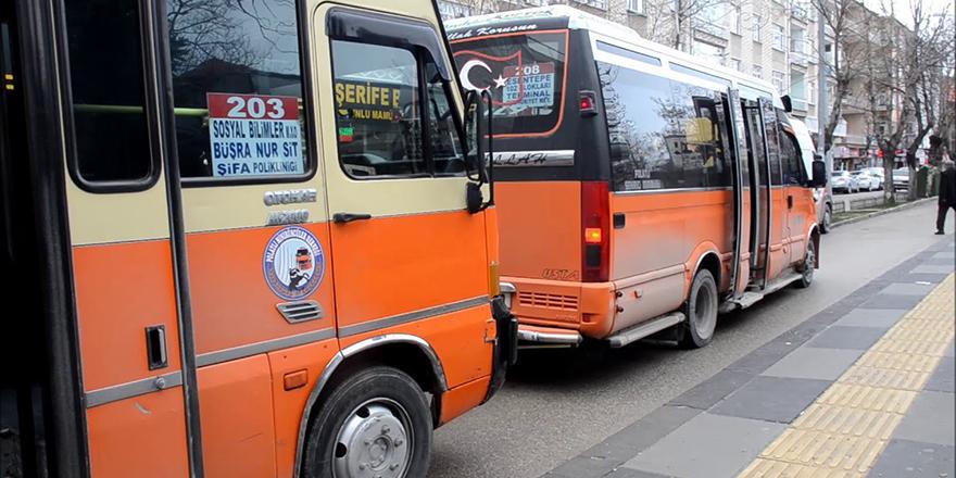 Polatlı'da dolmuşlara yüzde 25 zam