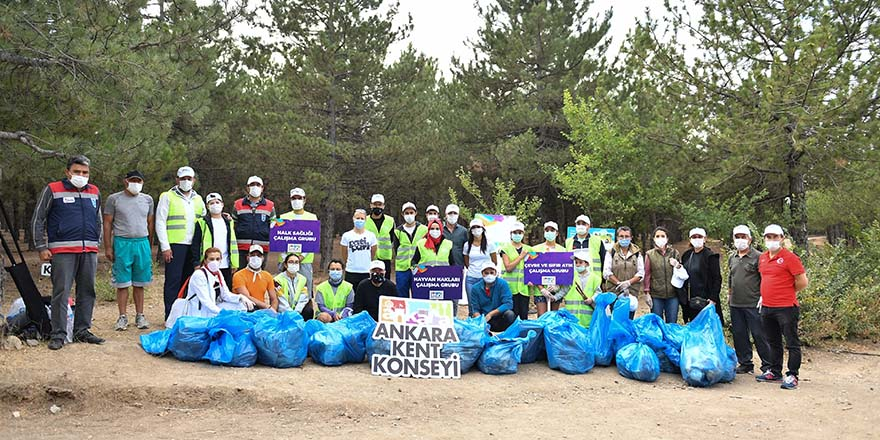 Ankara Kent Konseyi Yürüyüş Yolu'nda