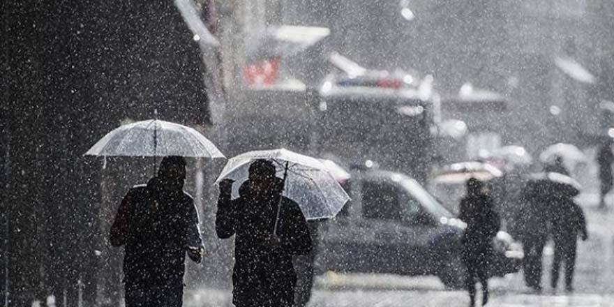 Meteoroloji'den yağış uyarısı!