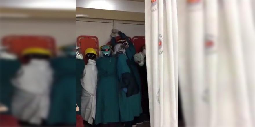 Eşkiyalar hastane bastı
