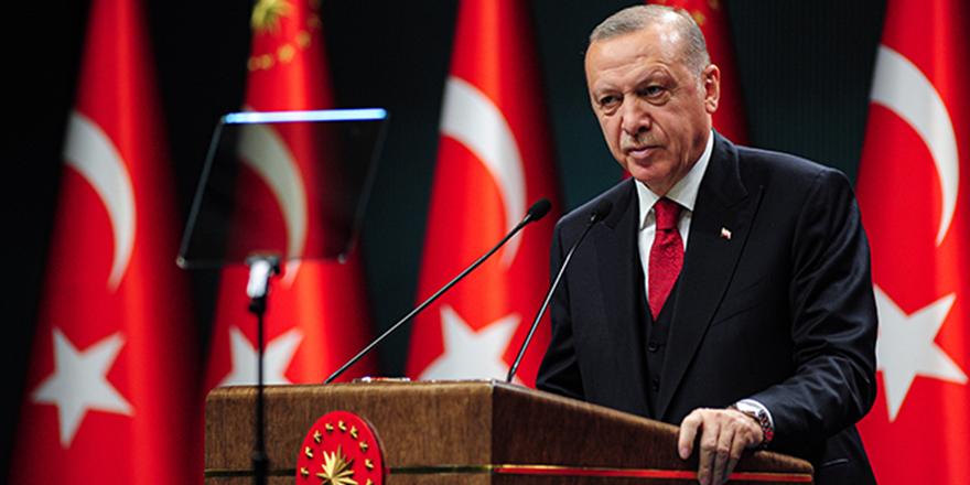 Cumhurbaşkanı Erdoğan'dan tedbir açıklamaları