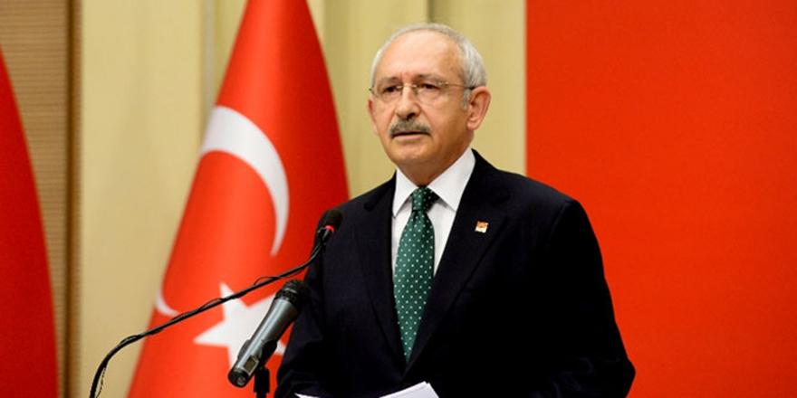 CHP Genel Başkanı Kılıçdaroğlu'dan açıklama