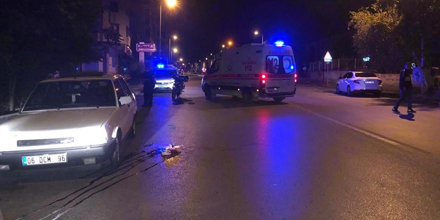 Başkent'te sokak ortasında silahlı saldırı