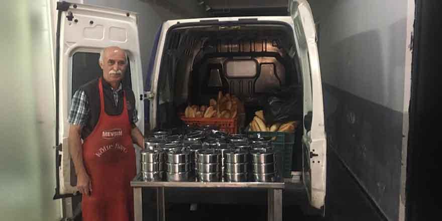 Kızılcahamam Belediyesi'nden 350 kişiye sıcak yemek