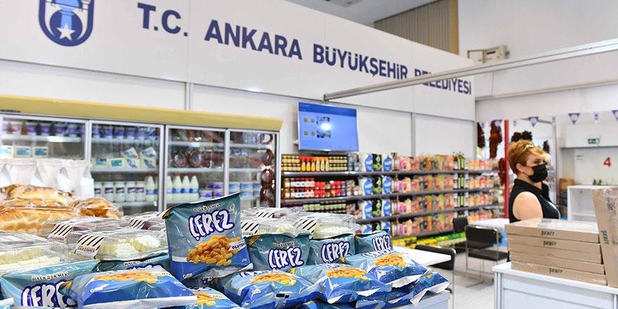 """""""Başkent Market"""" görücüye çıktı"""