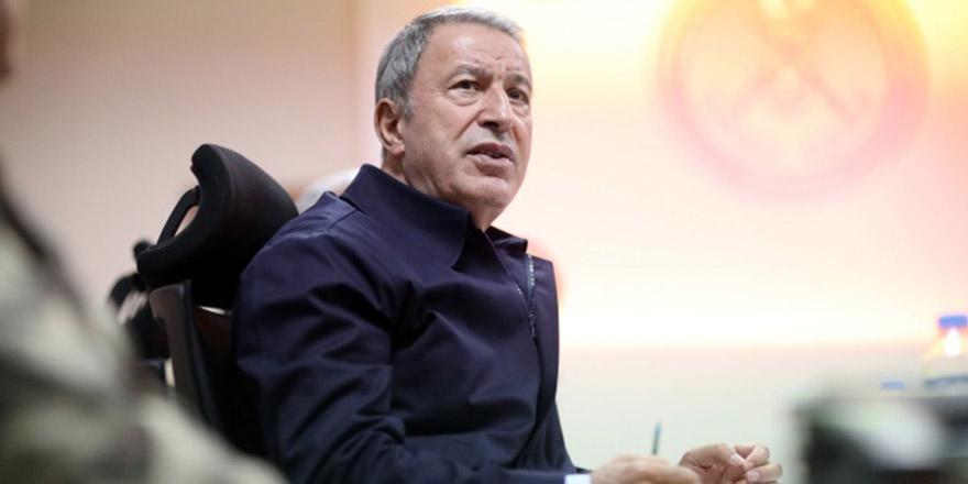 Bakan Akar'dan Ermenistan saldırısına kınama