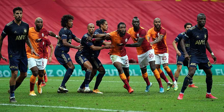 Galatasaray Fenerbahçe derbisinden 6. kez kazanan çıkmadı